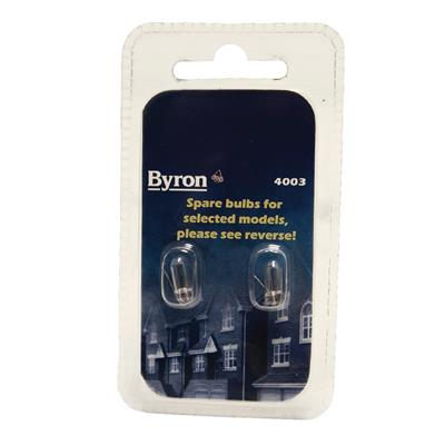 Byron 99.640.21.01 Spare bulbs set