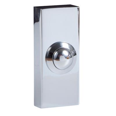 Byron DBW-21023 WIRED DOOR PUSHER CHROME 2204BC