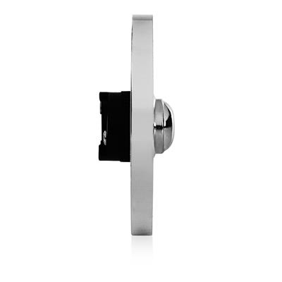 Byron DBW-21073 2207/P1 Wired bell push chrome 2207/P1BC